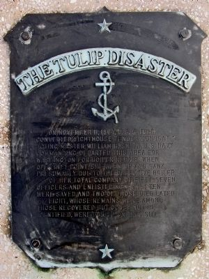 The Tulip Disaster Marker image. Click for full size.