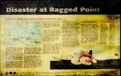 Disaster at Ragged Point Marker image. Click for full size.