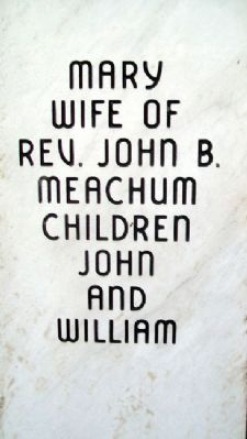 Mary Meachum Marker image. Click for full size.