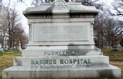 Robert A. Barnes Monument image. Click for full size.