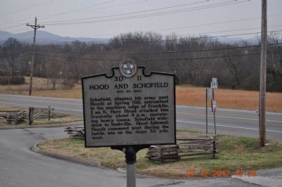 Hood and Schofield Marker (side2) image. Click for full size.