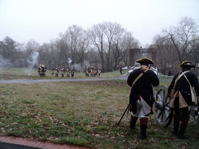 The Battle of Trenton Reenactment image. Click for full size.