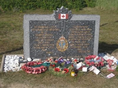 Royal Canadian Navy Memorial Marker image. Click for full size.