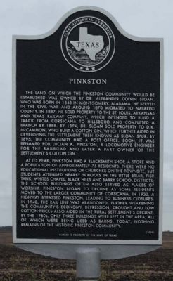 Pinkston Marker image. Click for full size.