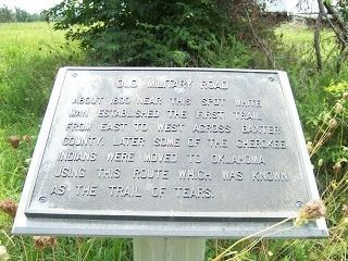Old Military Road Marker image, Click for more information