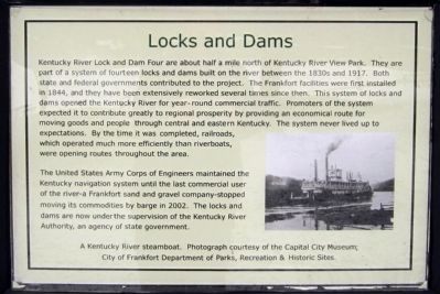 Locks and Dams Marker image. Click for full size.