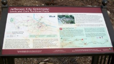 Jefferson City Greenway Marker image. Click for full size.