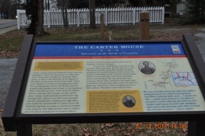 The Carter House Marker image. Click for full size.