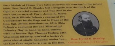 Gen. David S. Stanley image. Click for full size.