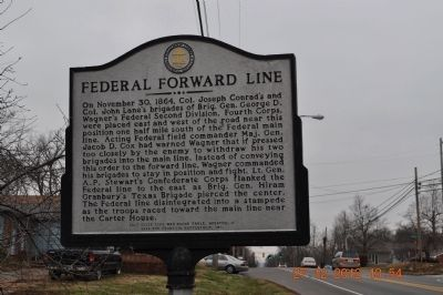 Federal Forward Line Marker image. Click for full size.