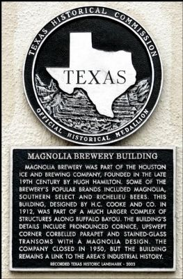 Magnolia Brewery Building Marker image. Click for full size.