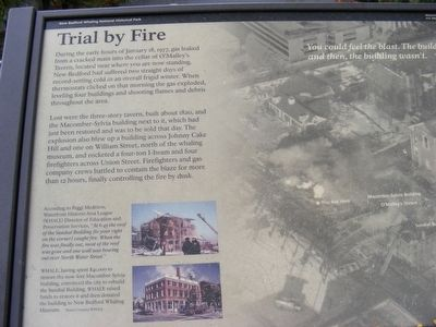 Trial by Fire Marker image. Click for full size.