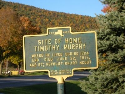 Timothy Murphy Marker image. Click for full size.