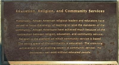 Education, Religion, and Community Services image. Click for full size.