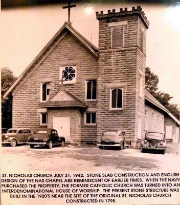 St.Nicholas Church July 31, 1942. image. Click for full size.