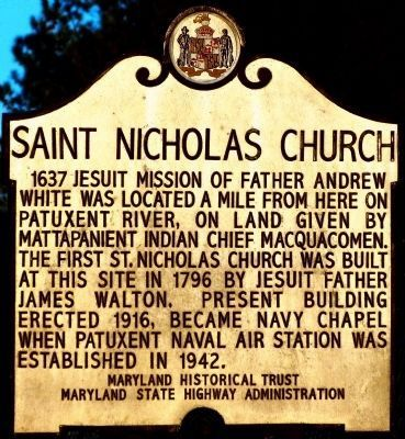 Saint Nicholas Church Marker image. Click for full size.