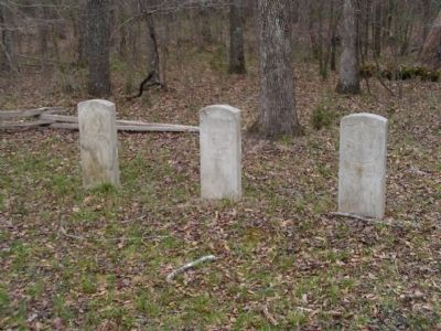 Graves of Federal soldiers image. Click for full size.
