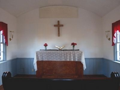 The Altar in Rosedale Chapel image. Click for full size.