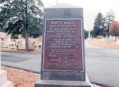Worth Bagley Memorial image. Click for full size.