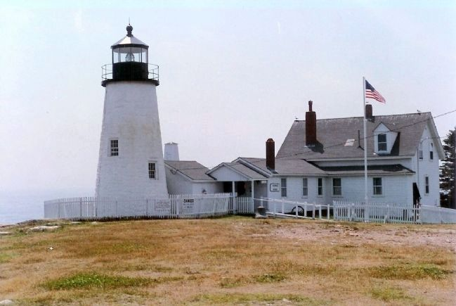 Pemaquid Point Lighthouse image. Click for full size.