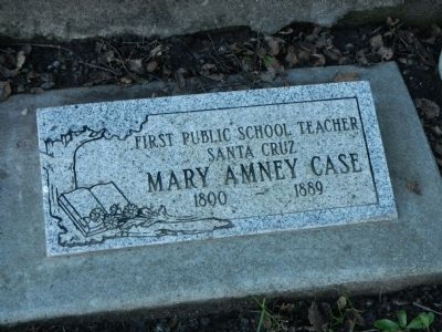 Mary Amney Case Marker image. Click for full size.