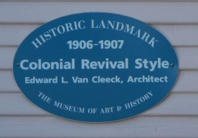 Colonial Revival Style Marker image. Click for full size.