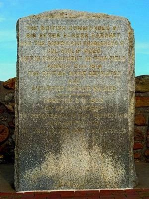 Caulk�s Field Monument Marker Photo, Click for full size