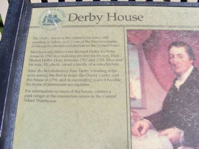 Derby House Marker image. Click for full size.
