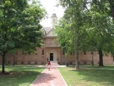 The College of William and Mary in Virginia Building Photo, Click for full size