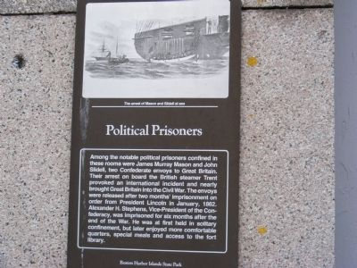 Political Prisoners Marker image. Click for full size.