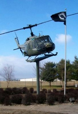 All Vietnam Veterans Memorial UH-1 Huey image. Click for full size.