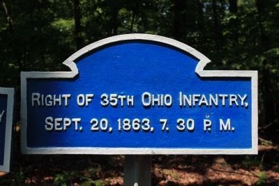 "35th Ohio Infantry ""Flank Marker"" image. Click for full size."