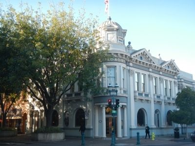 Bank of San Mateo County building image. Click for full size.