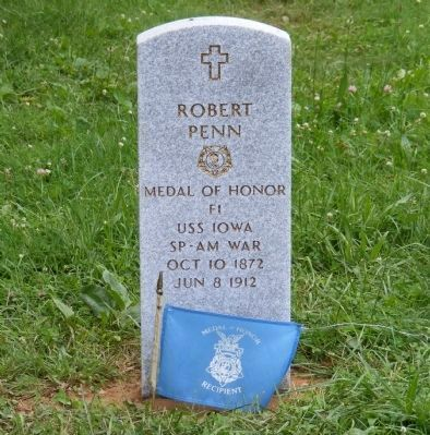 Robert Penn - Medal of Honor image. Click for full size.