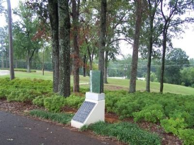 Our Land - Our Heritage Marker ; US 271 / SR 155 seen in distant background image. Click for full size.