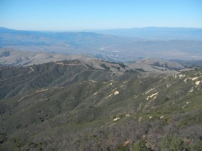 View of San Juan Bautista from Fremont Peak Photo, Click for full size