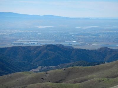 View of Salinas from Fremont Peak Photo, Click for full size