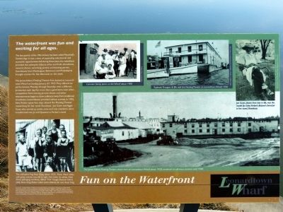 Fun on the Waterfront Marker image. Click for full size.