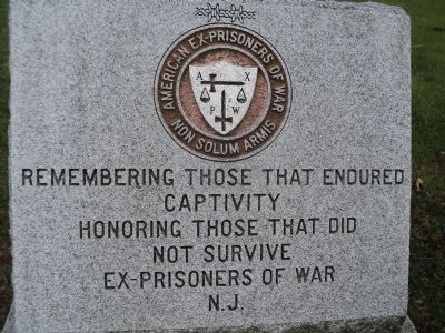 NJ POW Memorial Marker Photo, Click for full size