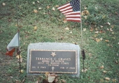 Terrence C. Graves Monument Marker Photo, Click for full size
