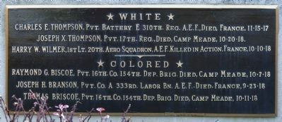 Names Plaque Photo, Click for full size