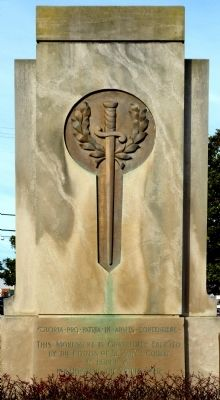 World War I Monument -- Leonardtown Marker Photo, Click for full size