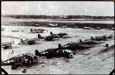 Joint Fighter Conference Flightline, October 1944. image. Click for full size.