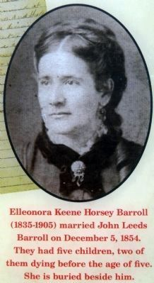 Elleonora Keene Horsey Barroll Photo, Click for full size
