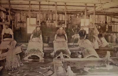 Kron's San Lorenzo Tannery, late 1800s image. Click for full size.