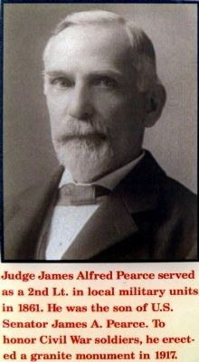 Judge James Alfred Pearce image. Click for full size.