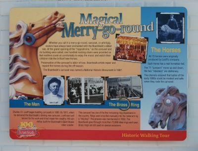 Magical Merry-go-round Marker image. Click for full size.