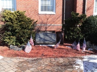 Pompton Plains 9/11 Memorial image. Click for full size.
