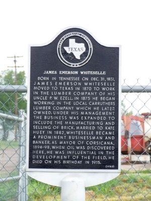 James Emerson Whiteselle Marker Photo, Click for full size