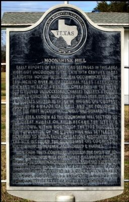 Moonshine Hill Marker image. Click for full size.